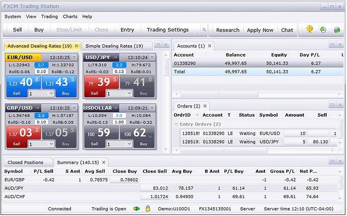 fxcm stație de tranzacționare 2 1000% pe investiția bitcoin