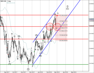NZD/CAD reversed from support area