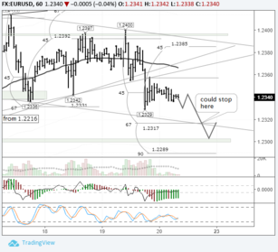 EURUSD: euro expected to continue its decline