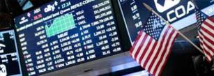 Three main US indexes edged up to fresh records