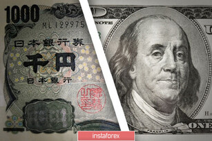 USD/JPY. It has its own atmosphere: the pair is growing despite the general weakening of the dollar