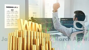 NordFX Summed Up April Results: TOP 3 Most Successful Traders and IB-Partners