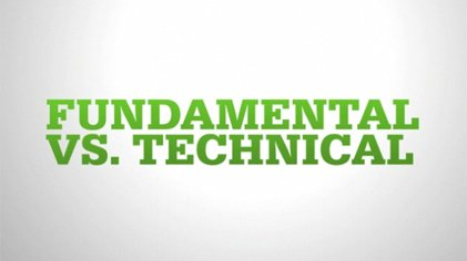 Comparing fundamental and technical analysis