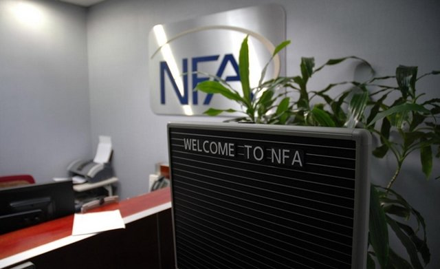 NFA Regulator on FOrex
